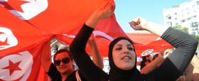 TUNISIA-POLITICS-UNREST-POLICE
