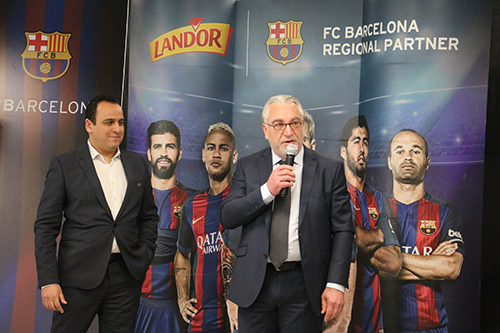 Land'or FC Barcelone