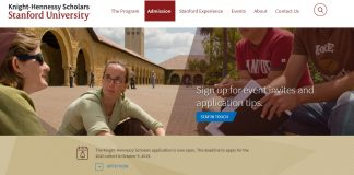 Admission - Knight-Hennessy Scholars - bourses-stanford university